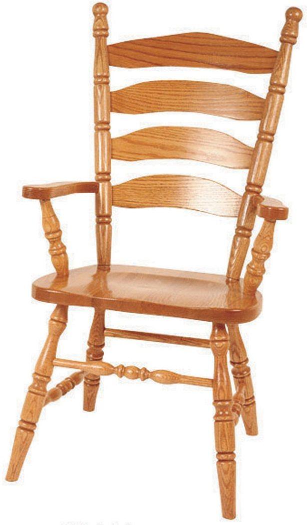 Charlestown Ladder Back Arm Chair