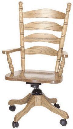 Charlestown Ladder Back Desk Chair