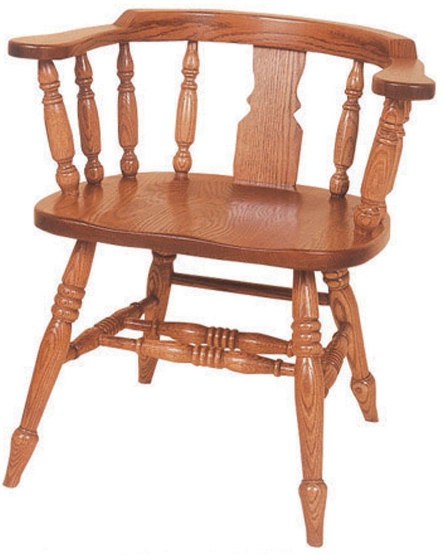 Denmark Low Windsor Slot Arm Chair
