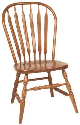 Bent Paddle Back Chairs