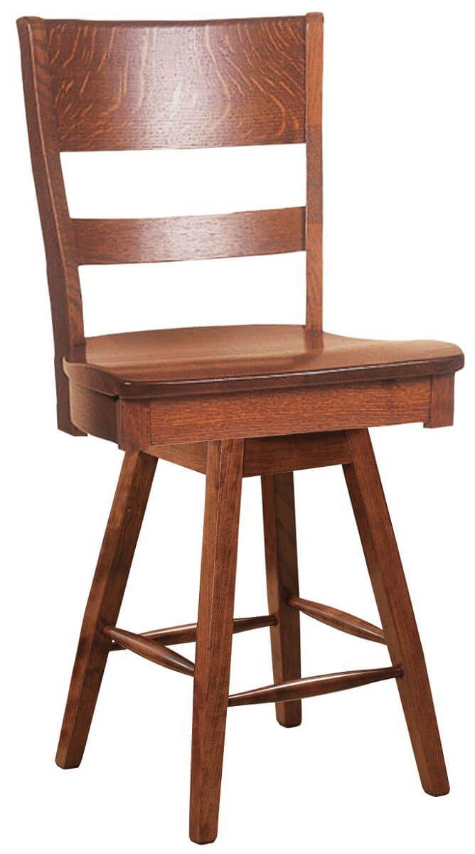 Ladera Swivel Pub Chair