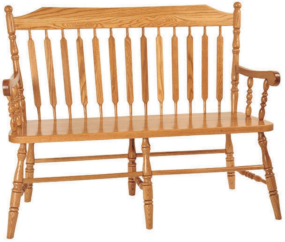 Larkin Paddle Back Bench