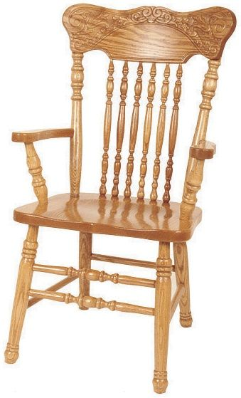 Solid Oak Longmeadow Arm Chair