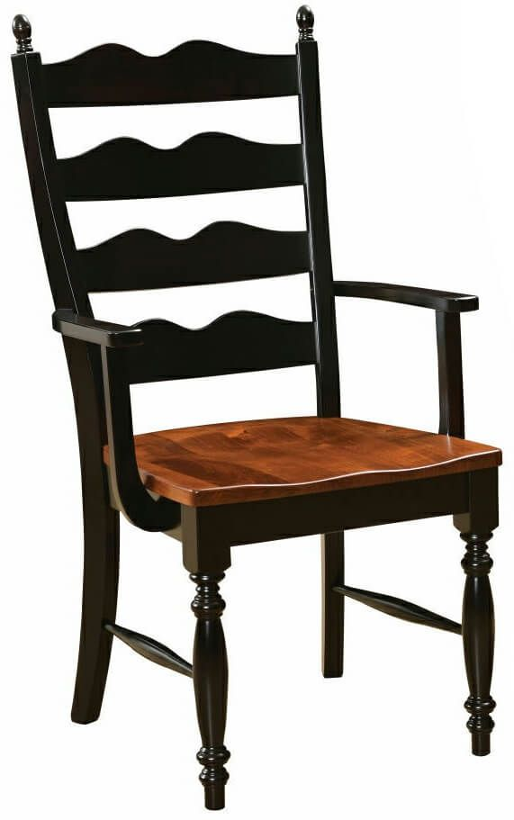 Normandy Ladder Back Arm Chair
