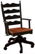 Normandy Ladder Back Desk Chair
