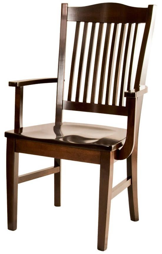 Raffles Amish Dining Arm Chair