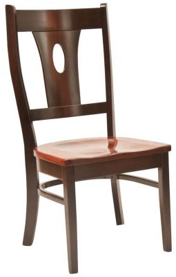 Contemporary Rye Side Chair