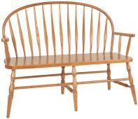 Sonoma Low Bent Bench