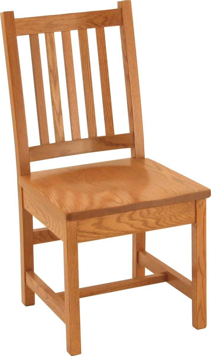 Bajada Mission Kitchen Chair in Oak
