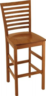 Amish made Shaker Pub Chair