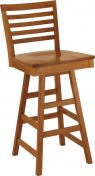 Elisee Shaker Swivel Pub Stool
