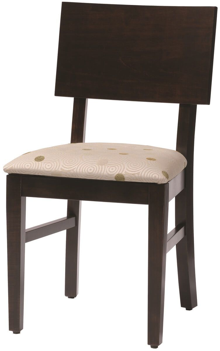 Shown with fabric seat