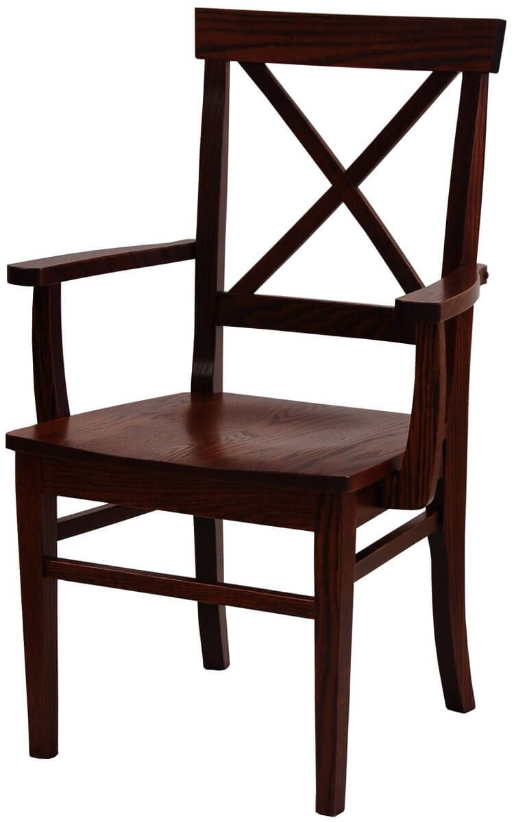 Sophie X-Back Kitchen Dining Chair - Countryside Amish Furniture