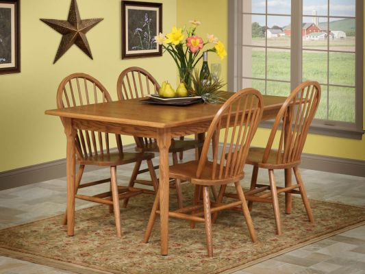 Sweetfield Rustic Cherry Dining Set