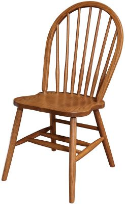 Amish Sweetfield Spindle Kitchen Chair