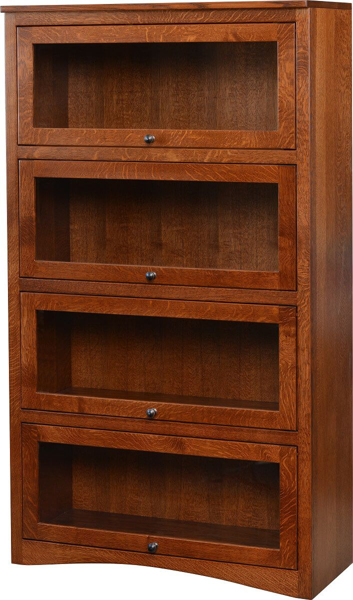 Montour 4-Door Barrister Bookcase