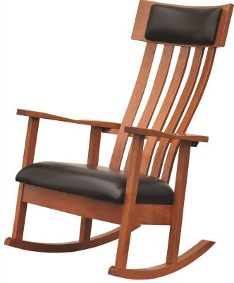 Solid Cherry Bethany Rocker