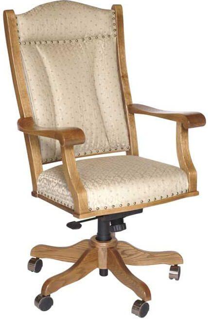 Prairie Desk Chair with fabric