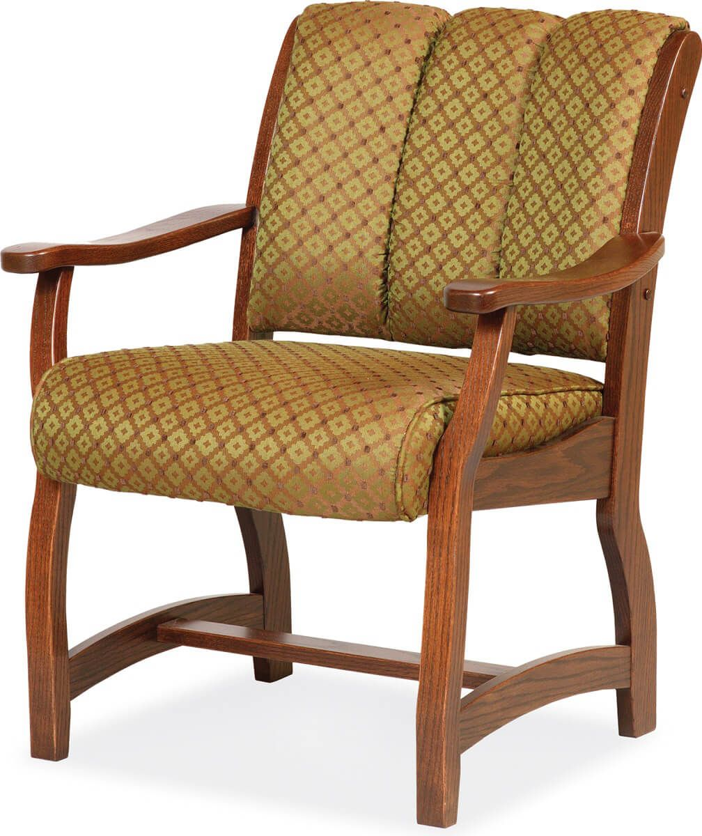 Roslyn Client Chair with Fabric Upholstery
