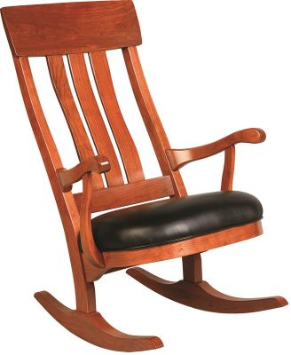 Saybrook Rocker in Cherry