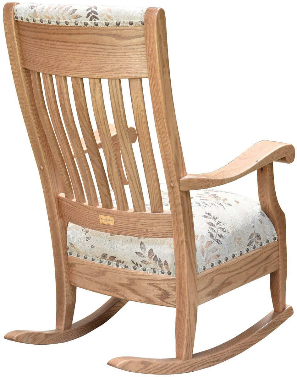 Rocking Chair Finished Back