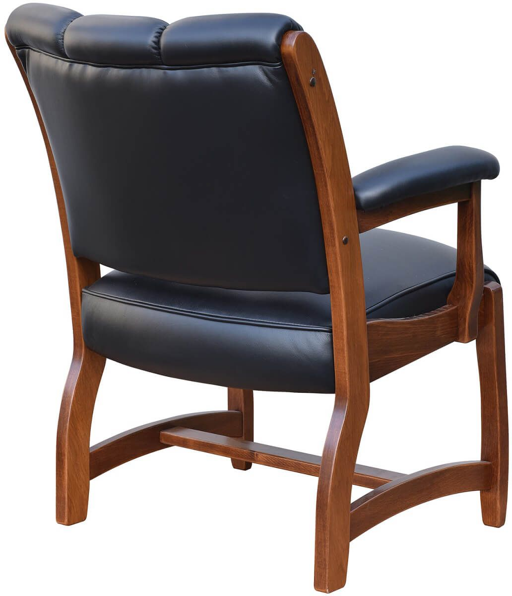 Leather Office Chair Back
