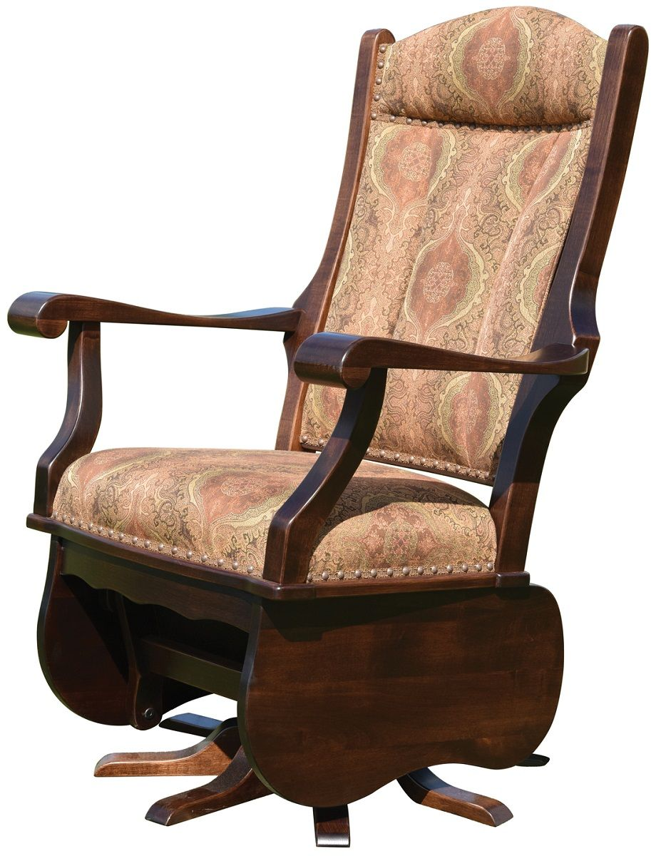 Wide Abigail Swivel Glider