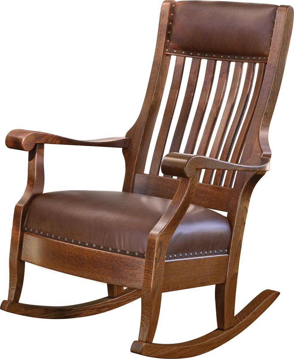 Augustine Rocker with Wide Seat
