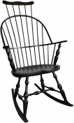 Philadelphia Comb Back Rocking Chair