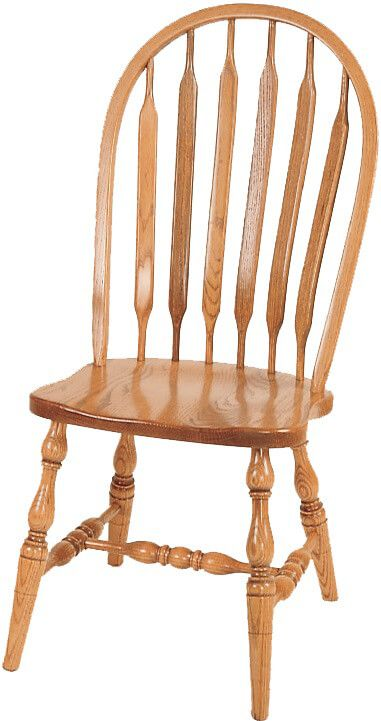 Side Chair with Turned Legs