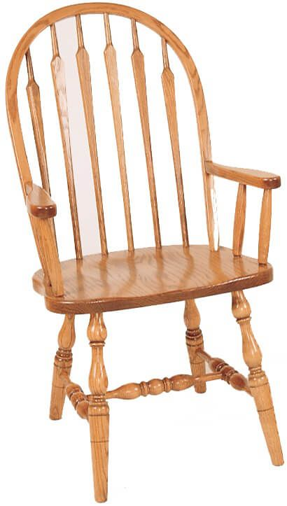 Newbury High Back Arrow Arm Chair