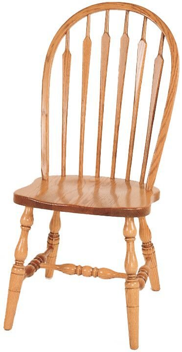 Newbury High Back Arrow Side Chair
