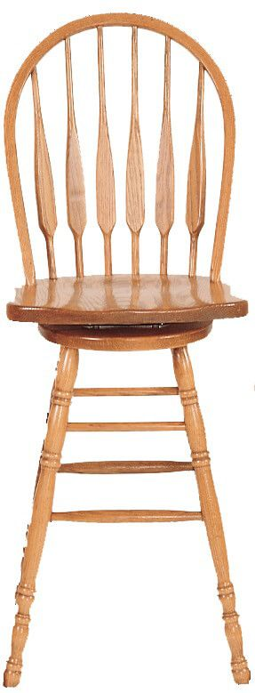 St. Mary's Low Back Feather Barstools