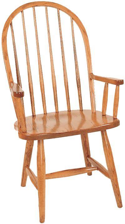 Arm Chair with Plain Base