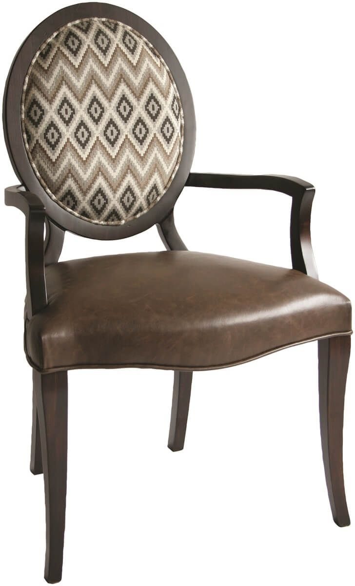 Gwen Upholstered Dining Arm Chair