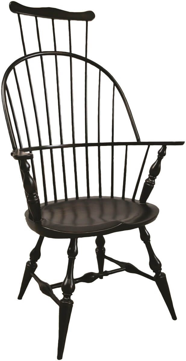 Philadelphia Comb Back Arm Chair