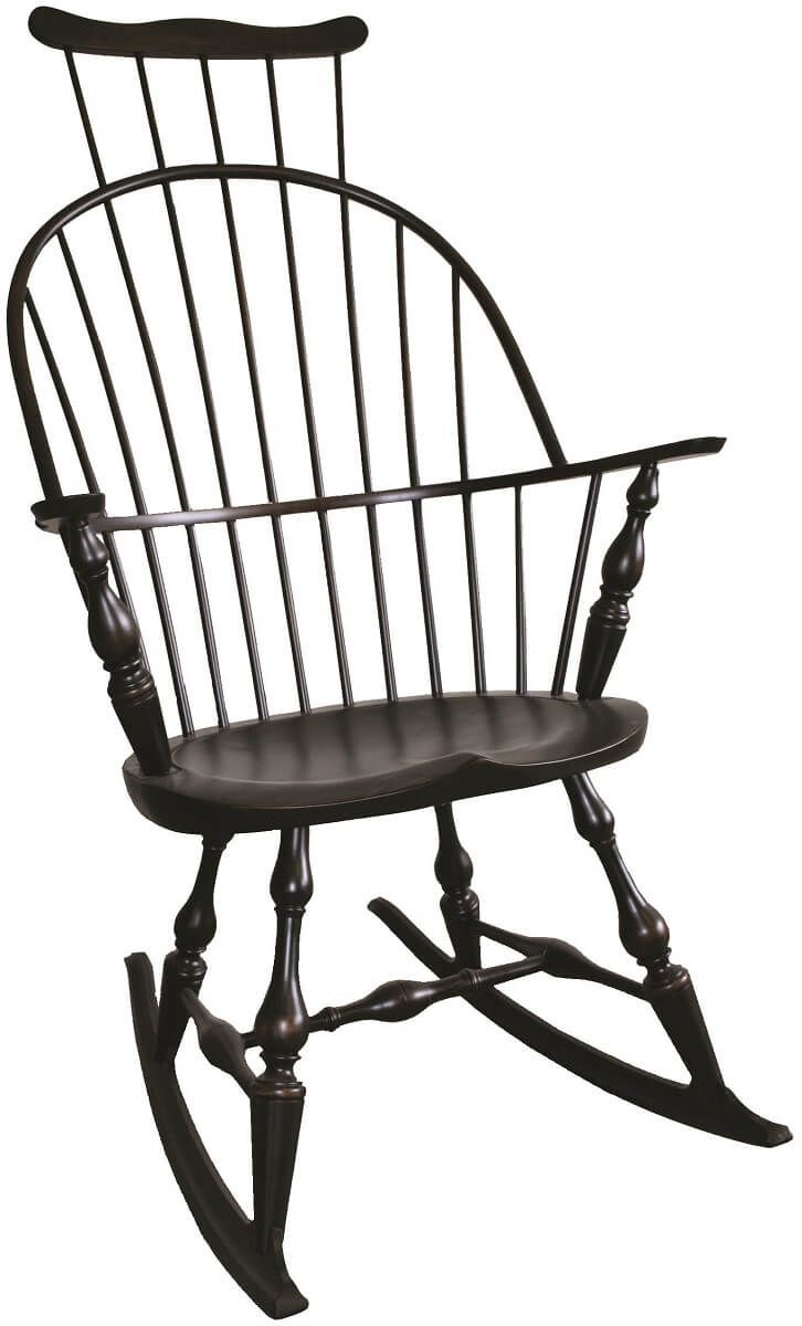 Phildelphia Comb Back Rocking Chair