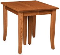 Handmade shaker dining tables countryside amish furniture whitewater extendable leg table workwithnaturefo