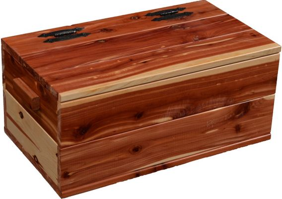 Jonas Aromatic Solid Cedar Chest Countryside Amish Furniture