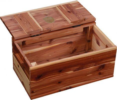 Jonas Aromatic Solid Cedar Chest Countryside Amish Furniture