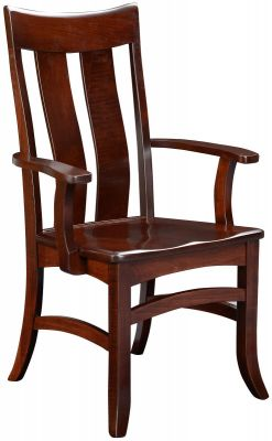Solid Wood Benezet Arm Chair