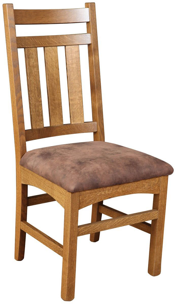 Biloxi Side Chair with Upholstered Seat