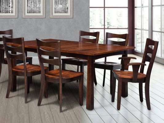 Solid Wood Modern Dining Collection
