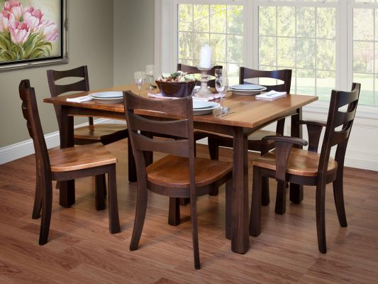 Carthage Expandable Dining Table - Countryside Amish Furniture