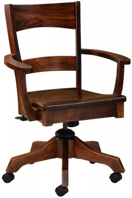 Dietrich Amish Desk Chair