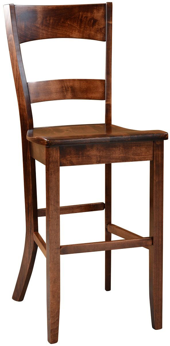 Dietrich Solid Wood Pub Chair