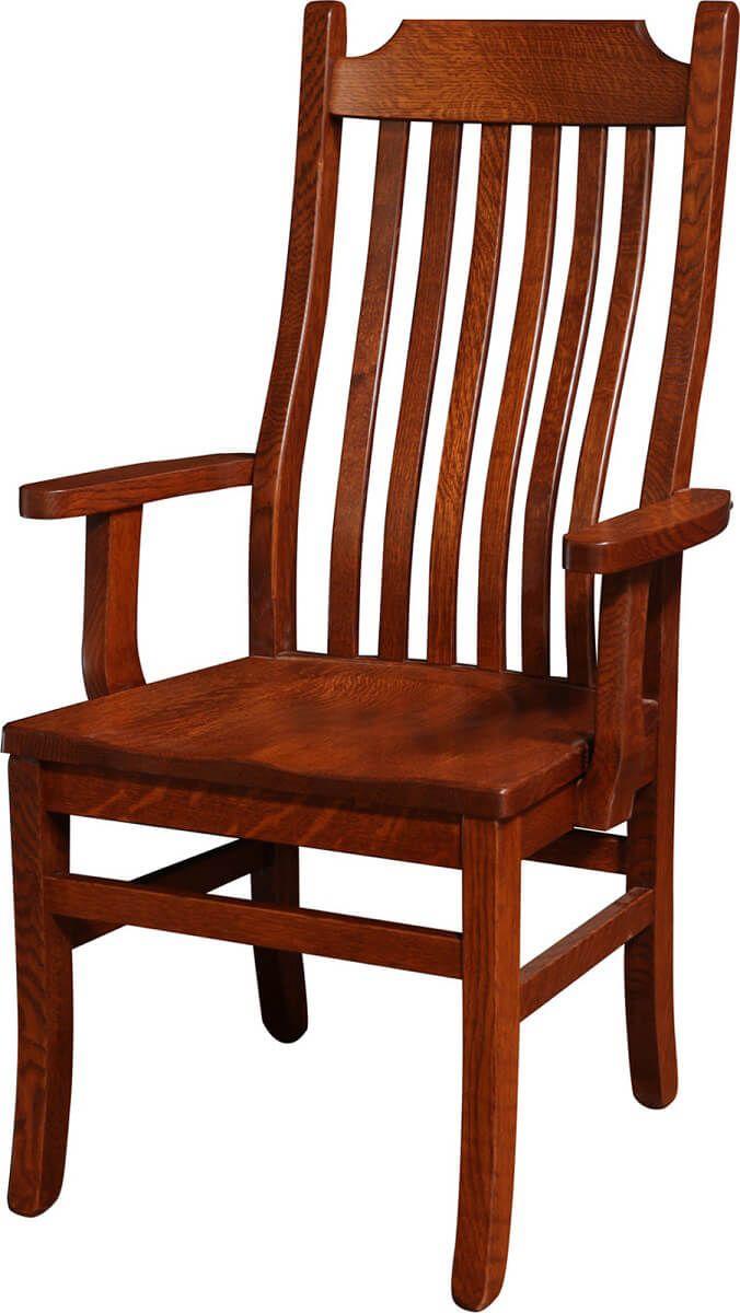Emma Mission Arm Chair