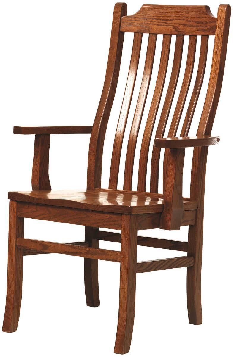Arm Chair in Oak
