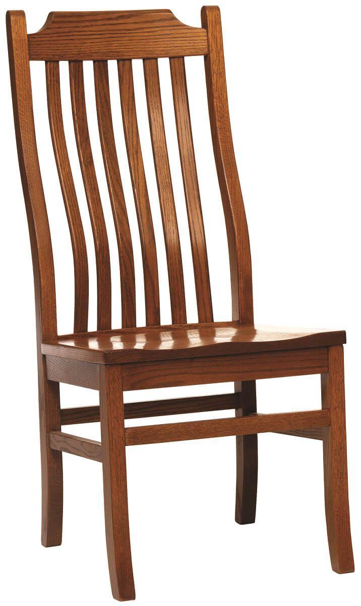 Side Chair in Oak