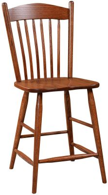 Granada Solid Wood Counter Stool